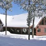 Custom Log Home in Colorado